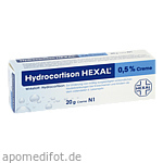 HYDROCORTISON HEXAL 0,5% Creme