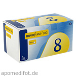 NOVOFINE 8 Kanülen 0,30x8 mm 30 G thinwall