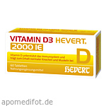 VITAMIN D3 Hevert 2.000 I.E. Tabletten