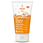 WELEDA Kids 2in1 Shower & Shampoo fruchtige Orange