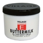 Village Bodycream Vitamin E - Buttermilk