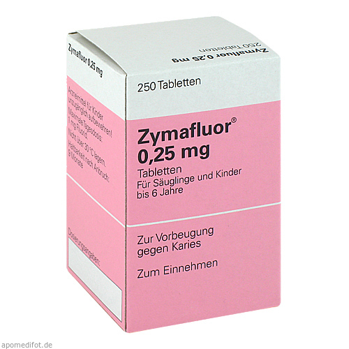 zymafluor 0 25 mg tabletten 250 st. Black Bedroom Furniture Sets. Home Design Ideas