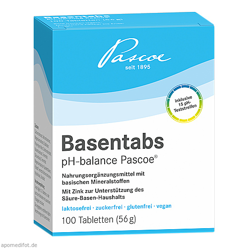 basentabs ph balance pascoe tabletten 100 st. Black Bedroom Furniture Sets. Home Design Ideas