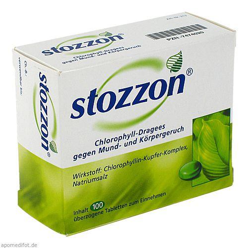 stozzon chlorophyll berzogene tabletten 100 st. Black Bedroom Furniture Sets. Home Design Ideas